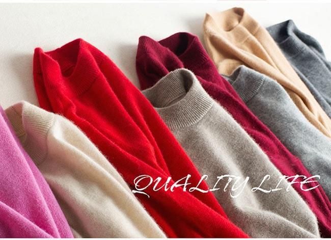定番色を揃えた全13色!AW新作!温かさの秘密は発熱する毛糸と保温する編地のダブル機能!新感覚の「あったかい♪」レディース ニットカラフル セーター タートルネック トップス 長袖 韓国ファションショ
