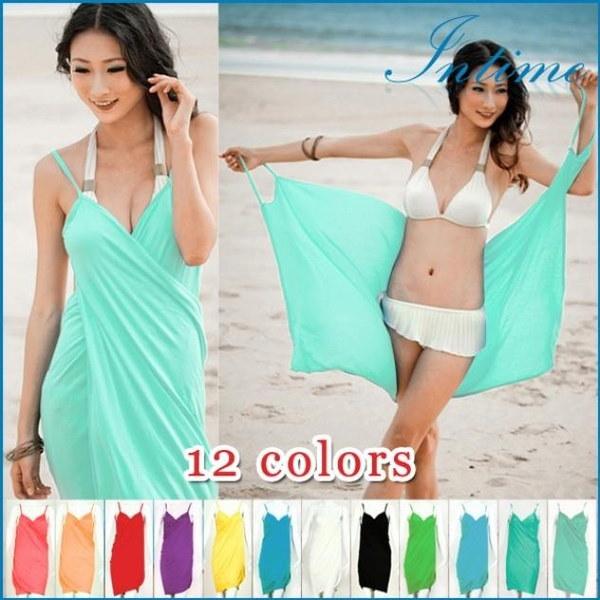 2016新しいセクシーなビーチは、水着の上着を覆うビキニラップドレスプライアは、ドレス#xuxule#