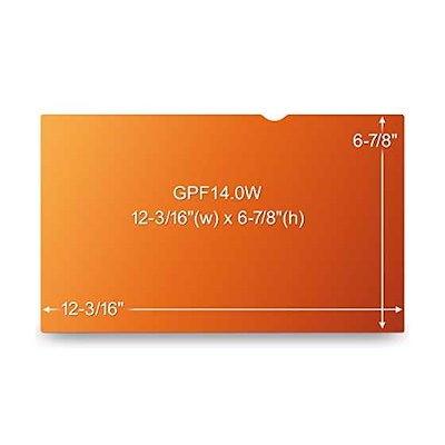 3M3M3M TMゴールドプライバシーフィルター GPF14.0W / GF140W9B