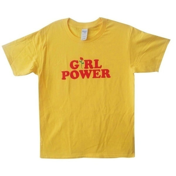 Flower Rose Feminist T-Shirt Girl Power Tumblr Shirt Hipster Shirt