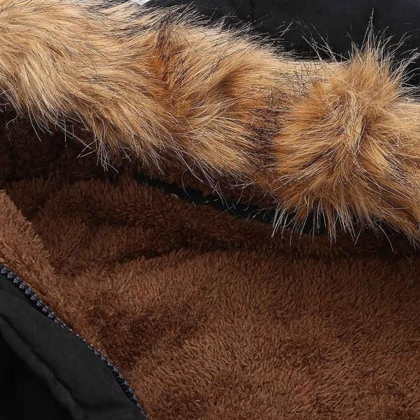 レディースウォームロングコートファーカラーフード付きジャケットスリムウィンターパーカーアウトレットコート#CRYSTALKSHINING