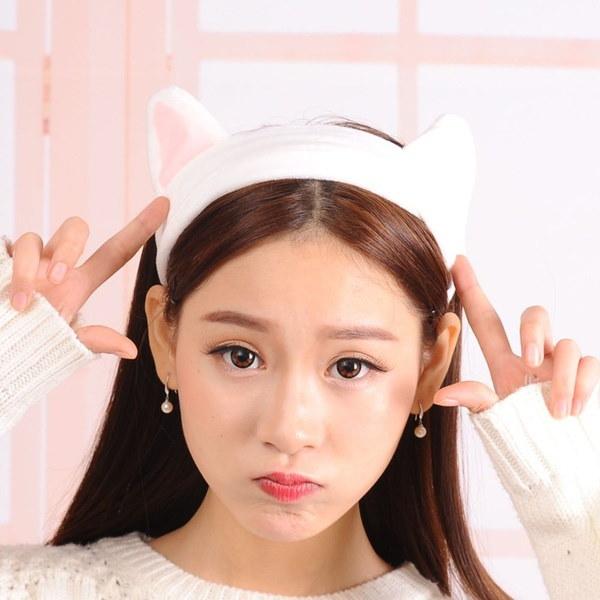 新しい女性の女の子の聖杯の猫の耳のヘッドバンドのヘアバンドの頭のパーティーコスプレギフト