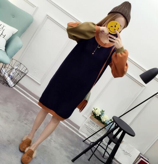 ニット/セーター/長袖/コート/コウモリの袖ゆったり長袖ブラウス/透かしシャツ/ウールシャツ/ハイネックセーター/カーディガンコート/