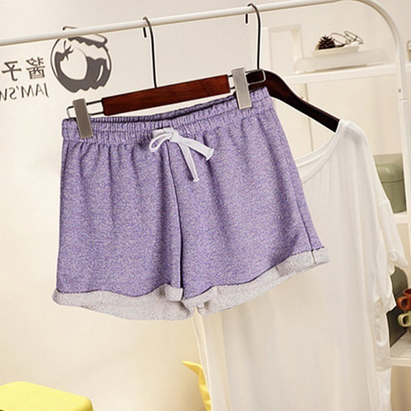 Fashion Women Ladies Summer Casual Shorts Beach Short Elastic Waist Pants