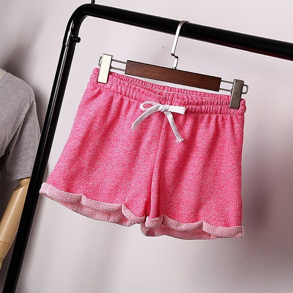 Fashion Women Ladies Summer Casual Shorts Beach Short Elastic Waist Pants
