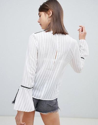 レリジョン レディース シャツ トップス Religion temper shirt with ladder detail