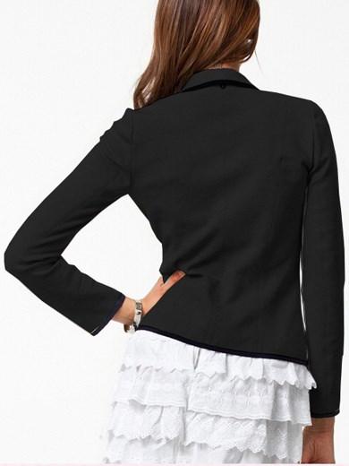 ファッション女性コットン長袖ブレザーショートスーツコートS / M / L / XL / XXL