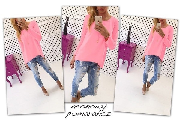 NEW Fashion Womens Loose Pullover T Shirt Long Sleeve Cotton Tops Shirt Blouse