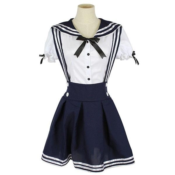 ROLECOS日本の学校制服女性セーラーメイド制服コスプレ衣装