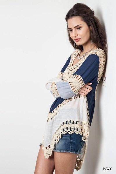 Women s Fashion Summer Style Blusa 2015 Women Lace Crochet Blouses Floral Mujer Blusas Com Renda Flannel Chemisier Femme Tops Camisas Shirts Femininas BX02