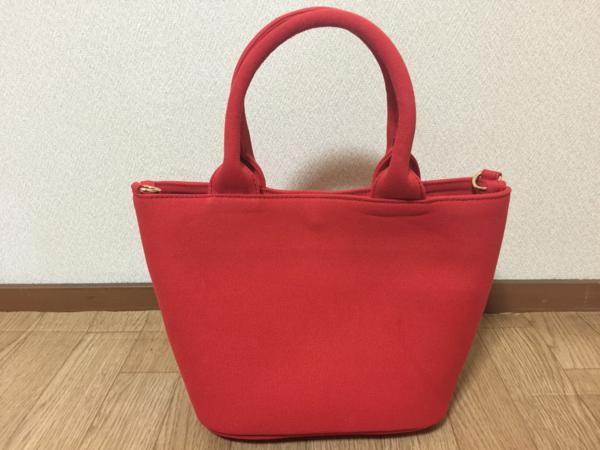 限定 スタッズバッグ 赤×赤×赤 S