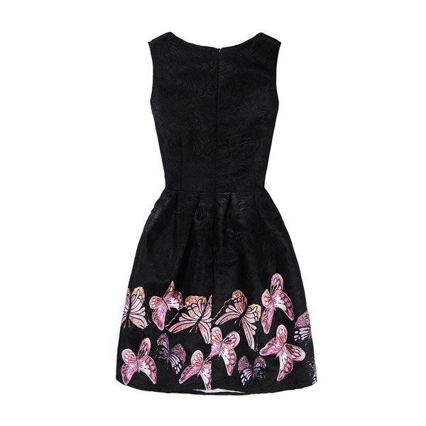 ノースリーブサマーガールズドレス女性のためのレディース服バタフライプリンセスコスチューム子供の博士