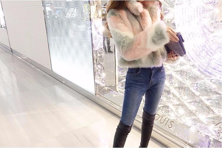 セール♪ アウター 高級 毛皮ファー レディース 豪華 ショートコート 通勤 希少 毛皮コート
