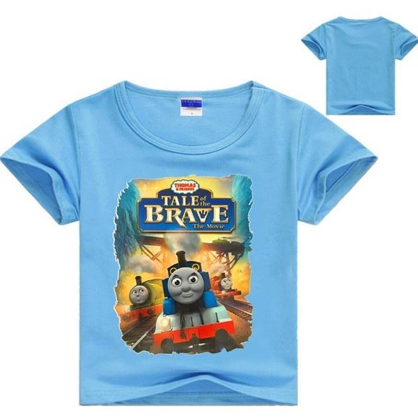 子供のTシャツ夏の半袖綿の男の子と女の子のTシャツ
