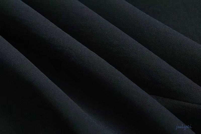 Vネックベスト付きスーツベスト レディーステーラードジレベスト 通勤 スリット入り チョッキ 袖なし ロング丈