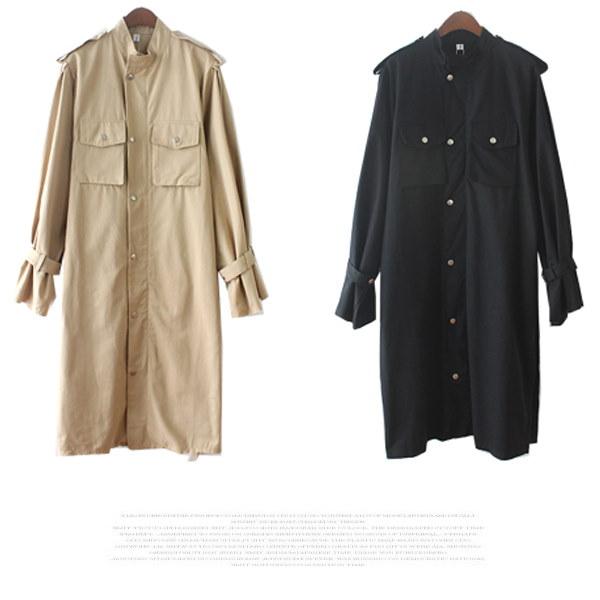 レディース トレンチコート アウター コート ロングコート Aライン シルエット リボン付き 長袖 無地 体型カバー ゆったり 送料無料 3カラー フリーサイズ tp352