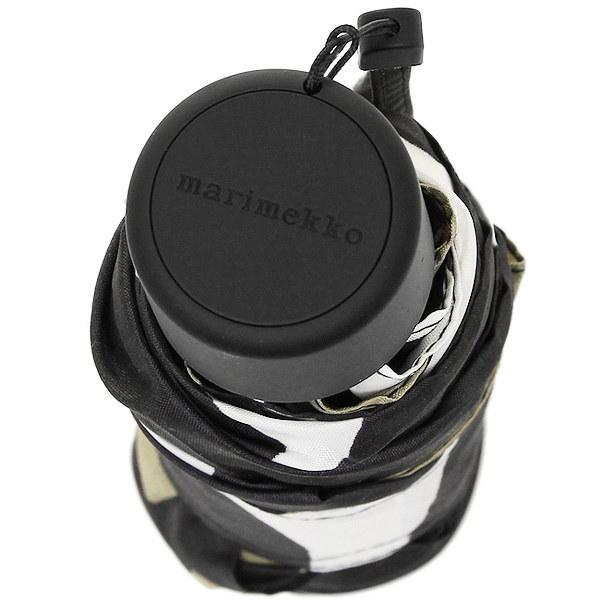 マリメッコ 傘 MARIMEKKO 038654 030 ピエニ ウニッコ PIENI UNIKKO MINI MANUAL 折り畳み傘 WHITE/BLACK