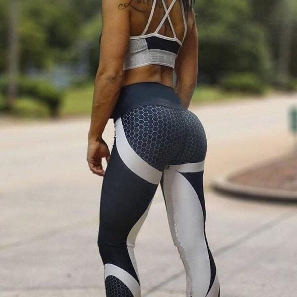 2017 NEWレディースファッションセクシースポーツ&アウトドアタイツレギンスランニングパンツ通気性ヨガレギン