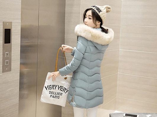 秋冬新作 綿入れ 帯帽 ★ 女性大人気◆防寒性抜群 ロングコート アウター ファー ダウンコート ファッション