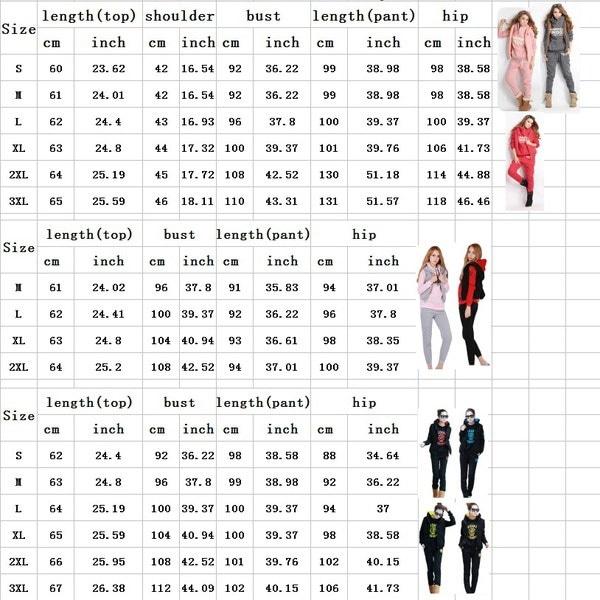 レディーススポーツスーツトラックスーツパーカーフード付きセーター+ベスト+パンツTOPファッションカジュアルセット
