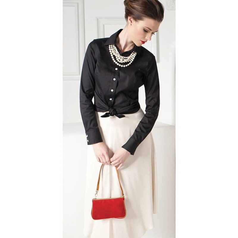 メルディス バンホフ レディース トップス ブラウス【Isabella Perfect Fit Shirt】Black