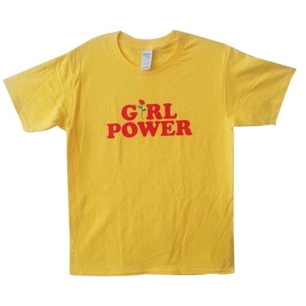 フェミニストのシャツInspirationalフェミニストのTシャツGirl Power Tumblr ShirtヒップスターのシャツFlower Rose