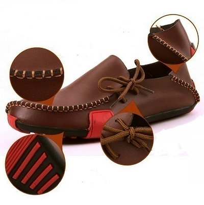 New Summer& Autumn Fashion Mens Casual Genuine Leather Flats Driving Moccasins Slip On Men Boat S