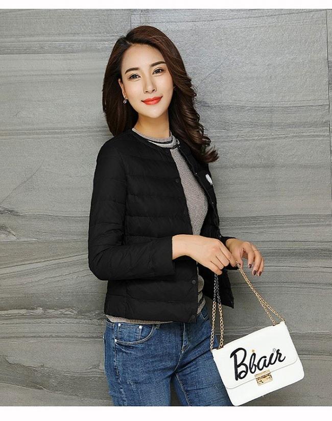 レディース服 女性 大人 冬 ダウンコート ダウンジャケット 丸襟 ショート丈 薄手 大きいサイズ 丸首 漫画 可愛い 着痩せ 韓国ファッション