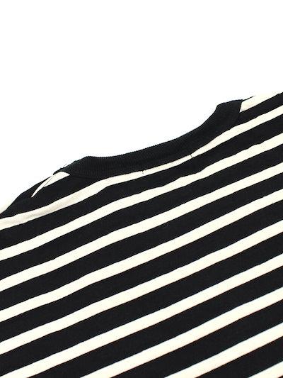 【ヴァンブラン Vent Blanc】コットン トゥルニエボーダー フレアスリーブ 長袖 プルオーバー・VC173750-1701702【レディース】【◎】