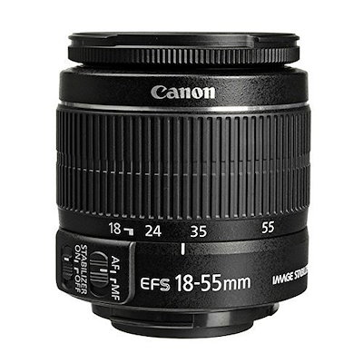 キヤノンEOS Rebel T6デジタル一眼レフカメラ+キヤノンEF-S 18-55mm f / 3.5-5.6 IS IIレンズ+サンディスク64GB