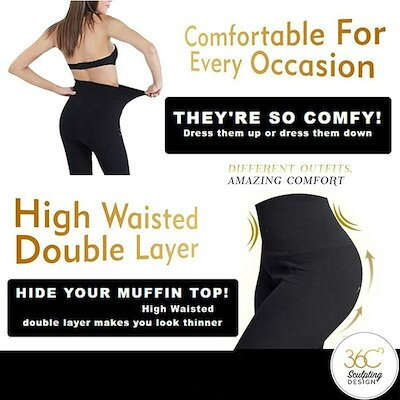 New Hot 3 Style Hollywood Pants Slimming High Waist-Shaping Leggings Slimming Mention Hip Leggings
