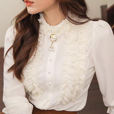 styleonme【Styleonme】♥スタイルオンミ♥韓国ファッション♥韓国通販♥プリンセス ラッフルブラウス