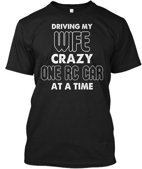 Rc Car LoverラジオコントロールヘインズタグレスティーTシャツ