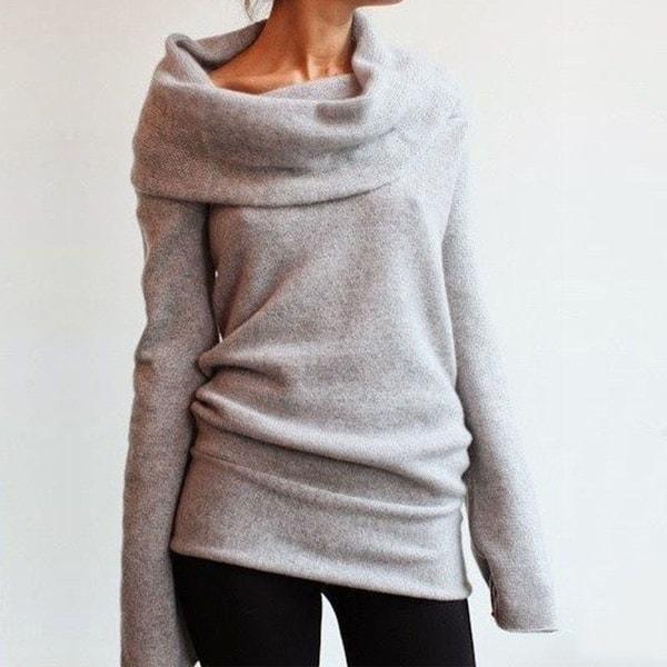 ファッションレディース冬長袖プルオーバーパーカジャケットセーターコートフード付きジャンパートップス