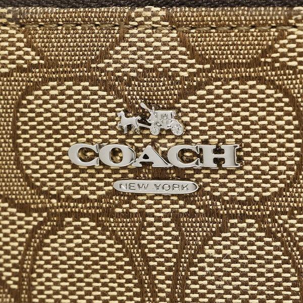 コーチ バッグ COACH 21498 SKHMA 小銭入れ・コインケース キーポーチ ブラウン/カーキ