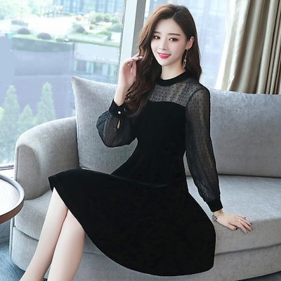 フォーマル フォーマルワンピース フォーマルワンピース 大きいサイズ オルチャンファッション 韓国ファッション マタニティ 結婚式 お呼ばれ ワンピース レディース レディース オルチャン
