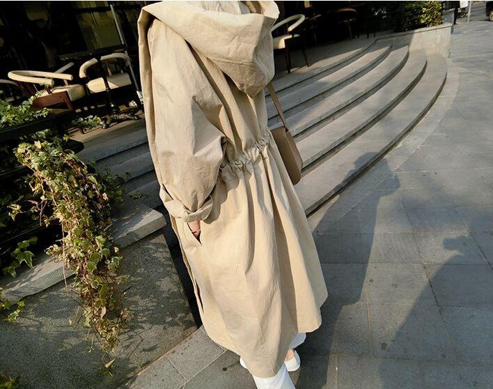 春秋冬 レディースアウター コート カーディガン 無地 ロングジャケット人気 韓国風カジュアル