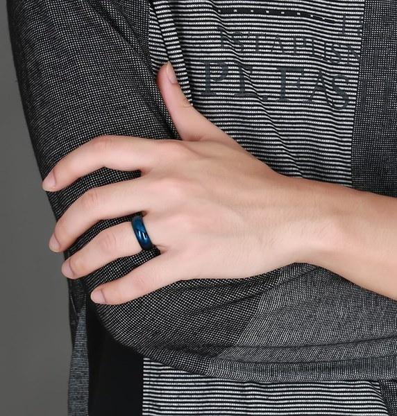 ファッションステンレスチタン鋼の男の男の子の男の子ハンサムジュエリーボーイフレンドギフト