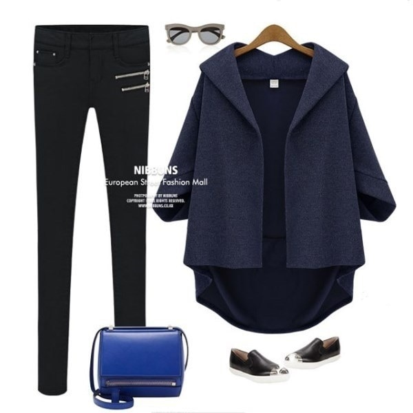 Autumn and winter leisure jacket, casual shawl, women s coat