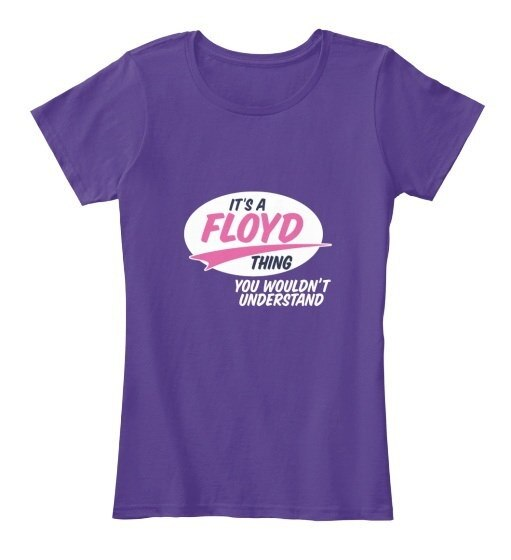 Floyd   It s A Thing Women s Premium Tee