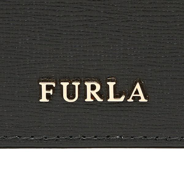フルラ カードケース FURLA 839273 PQ40 B30 O60 バビロン BABYLON BUSINESS CARD CASE 名刺入れ ONYX