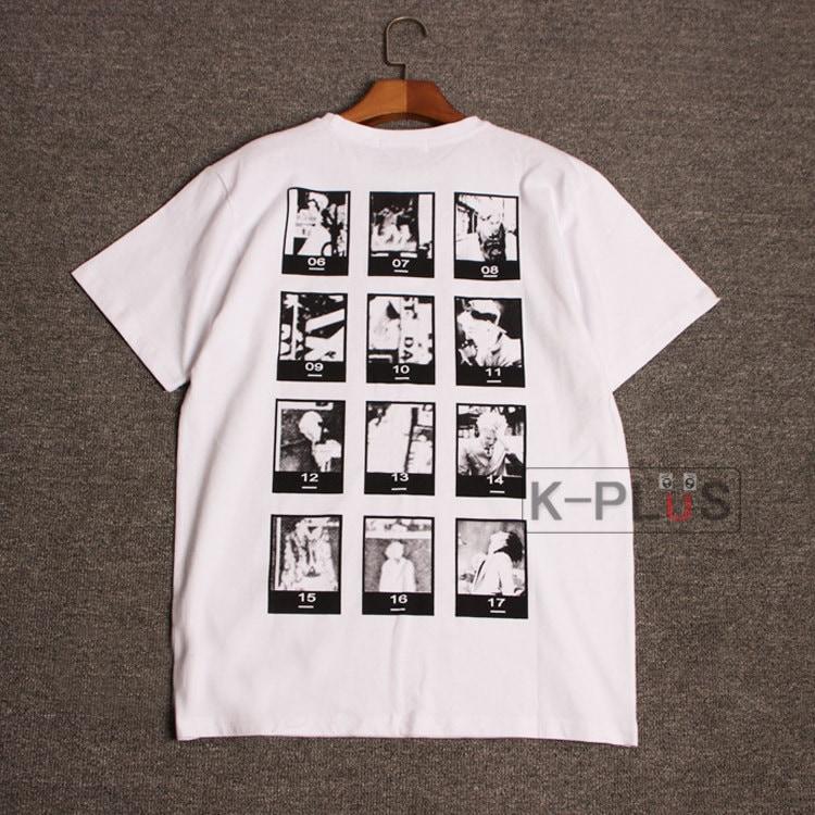 翌日発送 4種タイプ販売中!  2(個)ごとに200円割引 BIGBANG 着用 [LAST DANCE コンサート] GD 着用 パーカー プリントTシャツ