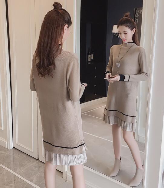 [55555SHOP] ピュサロング・ニットティー / おしゃれなシルエットのファッションコーデー提案!ハイクォリティー/韓国ファッション/オフィスルック/
