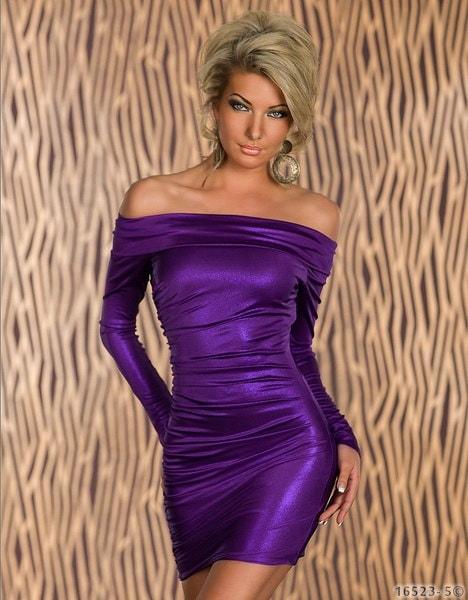 5カラープラスサイズML XLセクシーな美しさロングスリーブギルトボディコンクラブドレスオフショルダーミニ包帯