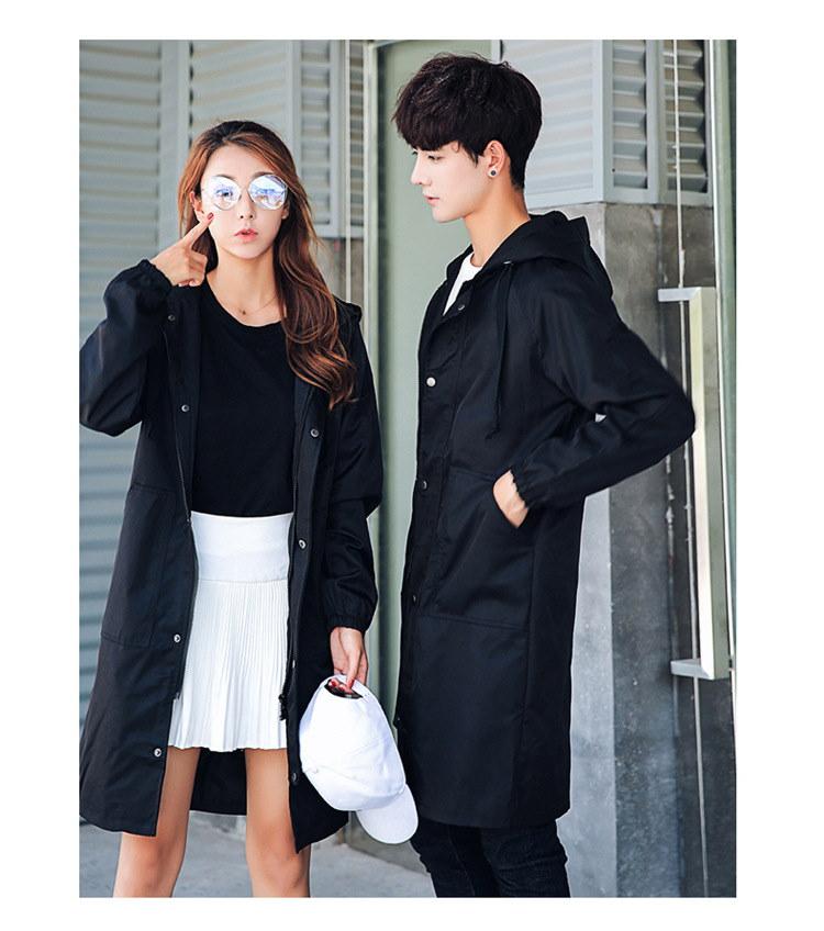 新作 メンズ コート coat アウター 上着 フード 男女兼用 カップル 秋 冬 全2色