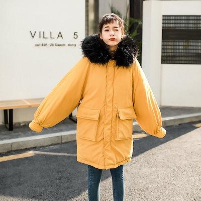 秋 NEW コート ジャケット ジッパー ダウン 防寒 女子会 デート 通学 カジュアル オフィス hf0556