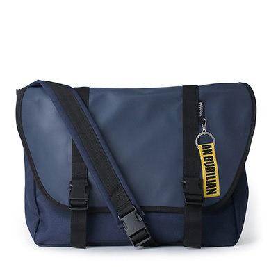【BUBILIAN] Simple Messeger Bag メッセンジャーバッグ / 韓国の街ブランド/韓国と日本のベストセラーリュックサック/ベーシックリュックサック/旅行鞄 / Navy