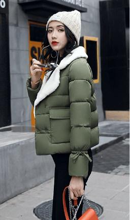 【即日発送】ダウンジャケット 首元あったか 大きめサイズあり 大人ゆるカジ ショート丈 3カラー /即日発送/ふわふわり
