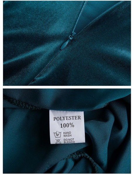 2017女性スリムロングディープOネックスリーブファッションベルベットパッケージヒップスリムドレスS-3XL