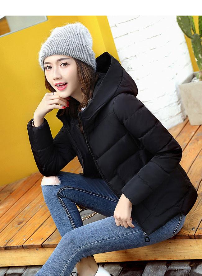 レディース服 女性 大人 冬服 コート アウター ダウンコート ダウンジャケット アシンメトリー 無地 細身 女度 着心地 厚手 帽子付き